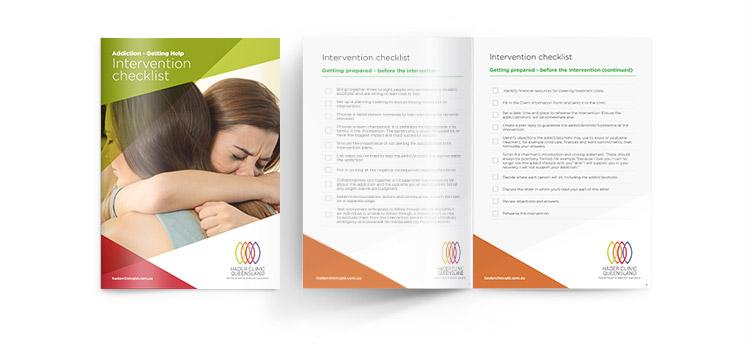 Intervention Checklist